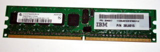 512 MB DDR2-RAM Registered ECC 1Rx8 PC2-3200R Infineon HYS72T64000HR-5-A