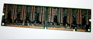 64 MB SD-RAM 168-pin PC-100U non-ECC 100 MHz  CL2 Micron MT8LSDT864AG-10EB4