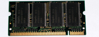 256 MB DDR-RAM 200-pin SO-DIMM PC-2700S  Hynix HYMD232M646C6-J AA