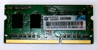 2 GB DDR3-RAM 204-pin SO-DIMM 1Rx8 PC3L-12800S 1.35V Micron MT8KTF25664HZ-1G6M1