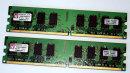 4 GB (2x 2GB) DDR2-RAM-Kit 240-pin PC2-5300U non-ECC...