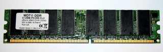 512 MB DDR-RAM 184-pin PC-2100U non-ECC CL2  MDT M512-286-16
