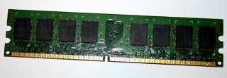 2 GB DDR2-RAM 240-pin 2Rx8 PC2-6400U non-ECC  Qimonda HYS64T256020EU-25F-C