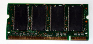 256 MB DDR RAM 200-pin SO-DIMM PC-2100S  Micron MT8VDDT3264HG-265C2