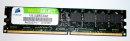 1 GB DDR2 RAM PC2-4200U nonECC Desktop-Memory Corsair...