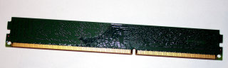 4 GB DDR3-RAM 240-pin PC3-12800U non-ECC CL11 Kingston KVR16N11S8/4 Low Profil