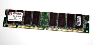 256 MB SD-RAM 168-pin PC-133U non-ECC  Kingston KFJ-SCE133/256   9905220   double-sided