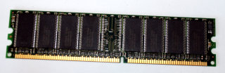 512 MB DDR-RAM 184-pin PC-3200U non-ECC Desktop-Memory, single-sided with Elpida-Chips