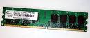 1 GB DDR2-RAM 240-pin PC2-5400U non-ECC G.SKILL...