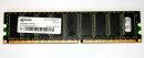 1 GB ECC DDR-RAM 184-pin PC-3200 Desktop-Memory Qimonda...