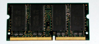 256 MB SO-DIMM 144-pin PC-133 Laptop-Memory  Samsung M464S3254CTS-L7A