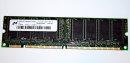 128 MB SD-RAM 168-pin PC-133U non-ECC 133 MHz  CL2...