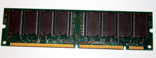128 MB SD-RAM 168-pin PC-100 non-ECC CL2 Micron MT16LSDT1664AG-10CB4