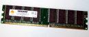 1 GB DDR-RAM 184-pin PC-3200U non-ECC  Mustang...