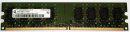 2 GB DDR2-RAM 240-pin 2Rx8 PC2-5300U non-ECC Qimonda...