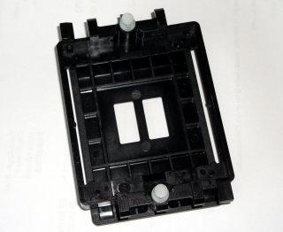 CPU-Kühler-Halterung  Retention-Modul für Sockel 754 und 939 (Kunststoff, schwarz, mit Clip)