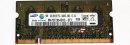 1 GB DDR2 RAM 200-pin SO-DIMM 2Rx16 PC2-6400S   Samsung...