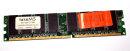 1 GB DDR-RAM 184-pin PC-3200U non-ECC   takeMS BD1024TEC600