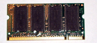256 MB DDR RAM 200-pin SO-DIMM PC-2100S  Micron MT8VDDT3264HDG-265B3