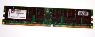 2 GB DDR-RAM PC-3200R Registered-ECC  Kingston KVR400D4R3A/2G 9965294