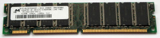 512 MB SD-RAM PC-133 CL2 Micron MT16LSDT6464AY-13ED2