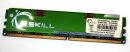 1 GB DDR2-RAM PC2-6400U non-ECC CL5 1.9V - 2.0V  G.SKILL...